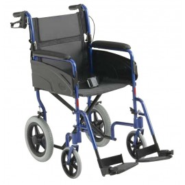 Breezy 300 - Silla de aluminio plegable autopropulsable