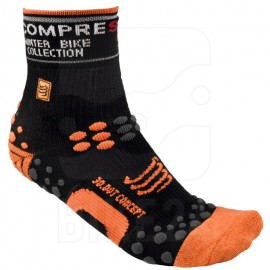 Calcetines de Compresión Pro Racing Socks Winter Bike Limited Edition Compressport