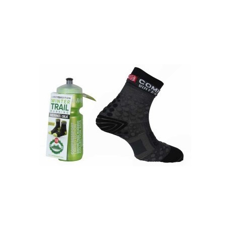 Calcetines de Compresion Pro Racing Socks Winter Trail Limited Edition Compressport